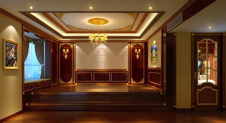 黄金时代中式风格装修-4