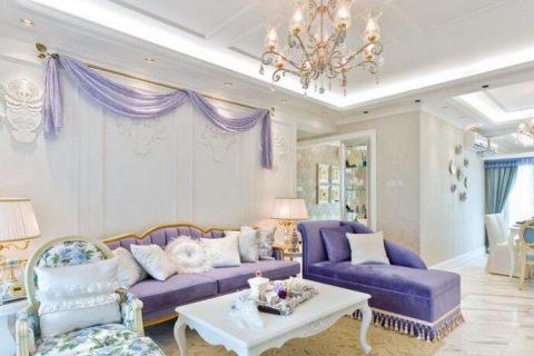 高地欧式风格装修设计效果图-三居室装修