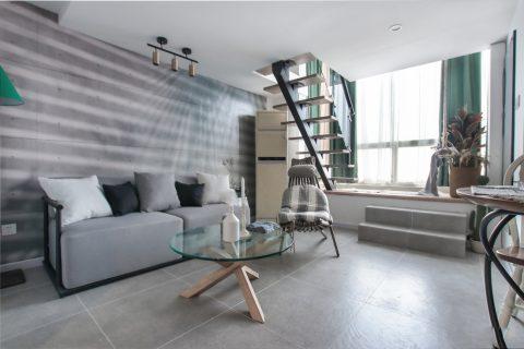 50平loft公寓北欧混搭设计